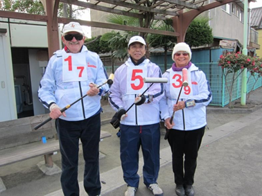 Gateball games in Japan - 1