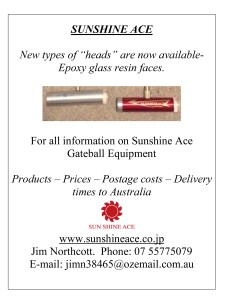SUNSHINE ACE advertisement