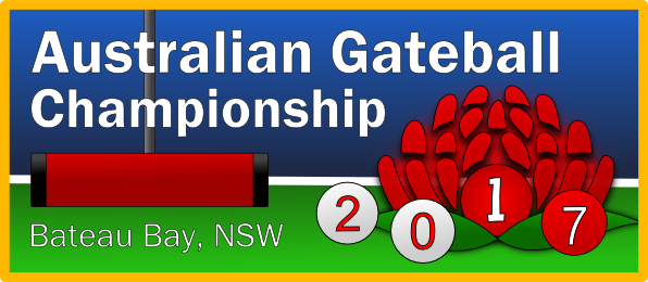 Entries for the Australian Gateball Championships 2017