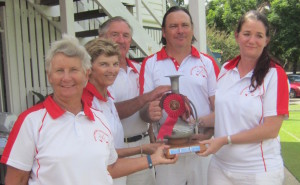 Winning team was Southport Red