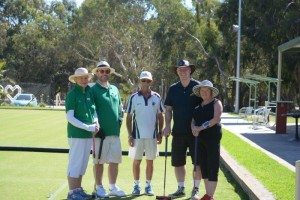 Kerry, Philip, Referee Barry J, Geoff and Trish