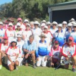 Group photo at Caloundra Clubhouse