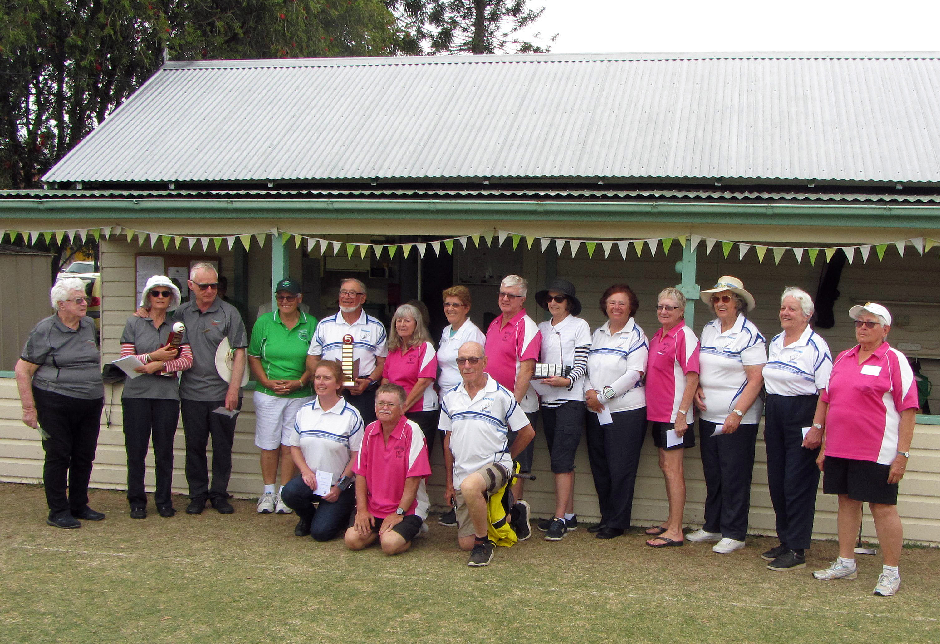 Trophies retained at CNSW State Championships despite a strong challenge from CAQ teams