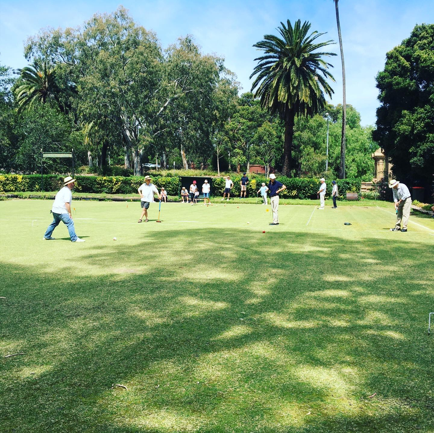 Kew Croquet Gives Gateball a Go