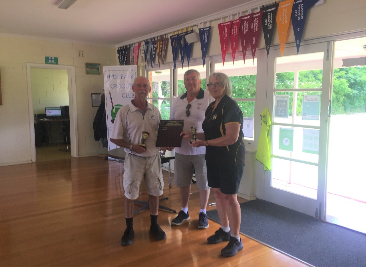 President's Trophy – SA State Gateball Doubles Competition